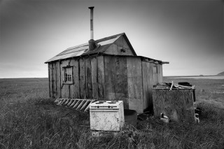 Hunting camp, near Nome, Alaska