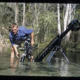 Adam directs, camera takes on water. Florida, 'Wild New World', 2000