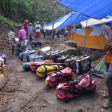 Makira kit: everything but the kitchen sink (although we did bring the fridge)